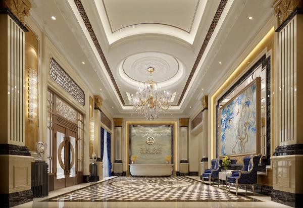 公共空间设计包括有单元入口,大堂,电梯厅,电梯井,楼梯间,走廊通道
